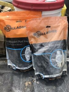 Gallagher Wood Post Electric Fence Insulator