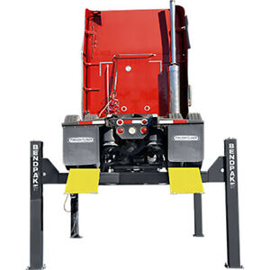 Bendpak 5175164 Four post Vehicle Lift 27 000 Lbs Extended