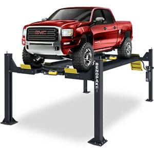 Bendpak 5175152 Four post Vehicle Lift 14 000 Lbs Open front