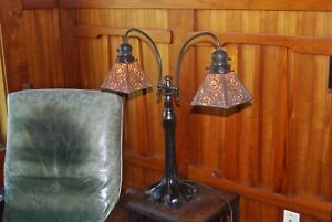Handel Double Student Desk Lamp Mission Arts And Crafts
