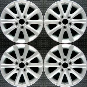 Set 2010 2011 Toyota Camry Oem Factory 4261106640 4261a06020 Wheels Rims 69565