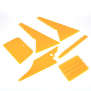 6 Car Window Tint Tools Kit Scraper Squeegee For Auto Film Tinting Installation