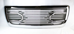 Front Upper Chrome Big Horn Style Grille For Ram 2500 3500 2010 2018