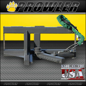 Prowler Tree And Post Puller Skid Steer Attachment Up To 6 Trees And 8 Post