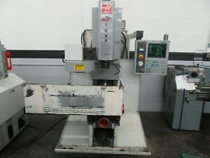 Haas Tm 1 Cnc Vertical Toolroom Mill With 10 Station Automatic Tool Changer