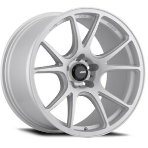 Konig Freeform 19x8 5 45 5x114 3 Matte Silver Set Of 4