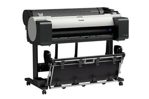 Canon Tm 305 36 Poster Printer Plotter 5 Color Pigment Architectural Drawings