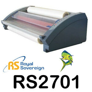 Royal Sovereign Rsl 2701 27 Table Top Hot Cold Roll Laminator Posters Menus