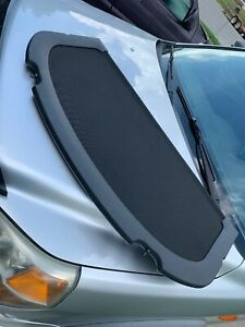 02 06 Acura Rsx Rear Hatch Trunk Cargo Cover Shade Panel black Used Oem