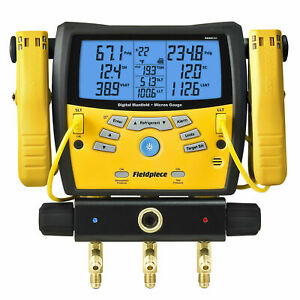 Fieldpiece Sman360 3 port Digital Manifold Micron Gauge