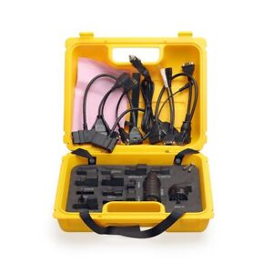 X431 Diagun Iv Yellow Case With Full Diagnostic Set Of Cables Automotive Supply