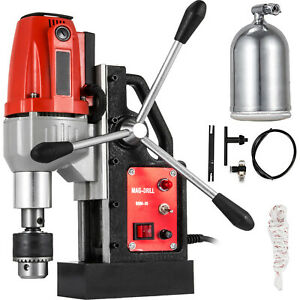 980w Brm 35 Magnetic Drill Press 1 1 2 Boring 2250 Lbs Magnet Force Tapping