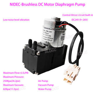12v 24v Brushless Vacuum Diaphragm Pump Aquarium Vacuum Pump Water Pump Diy