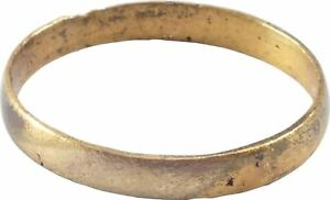 Ancient Viking Woman S Wedding Ring C 850 1050 Ad Size 7 17 2mm