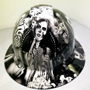 Hard Hat Full Brim Custom Hydro Dipped Osha Approved Tequila Shooter New