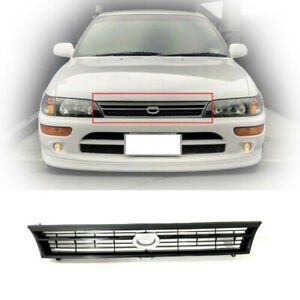 Grille Fit For Toyota Corolla 93 97 1993 1997 Ae100 Ae101 Jdm Crown Billet Style