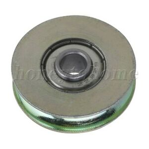 315kg U Groove Ball Bearing Pulley For Rail Track Linear Motion System 32mm Id