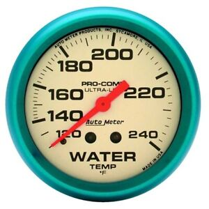 Autometer 4532 Ultra Nite Mechanical Water Temperature Gauge
