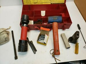 Hilti Dx100l Single Shot Powder Actuated Drive Fastening Tool W accessories