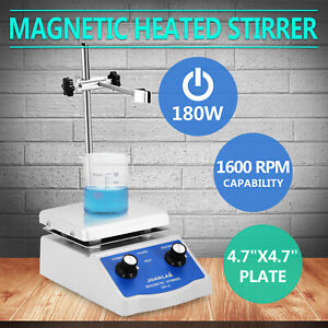 Sh 2 Magnetic Stirrer Hot Plate Dual Controls Heating Plate Stir Bar Laboratory