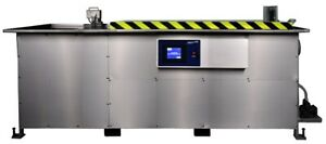 Automatic Ultrasonic Cleaner With Optional Weir And Spray Jet 200 Gallon