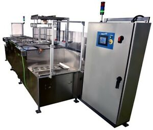 Automated Multi tank Ultrasonic Cleaner