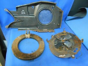 1953 Buick Under Seat Heater Housing Core Fan Rat Rod Custom 3130101