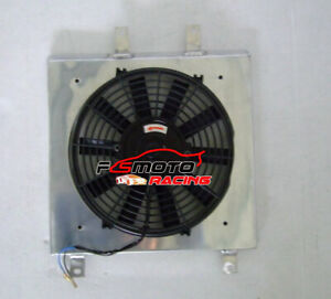 Aluminum Radiator Shroud Fan For Honda Civic Ek Eg D15 D16 B16 B18 1992 2000