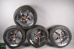 Mercedes W203 W220 W211 S500 Cl500 8 5 X 18 Wheel Rim Chrome Rims Set Of 4 Adr