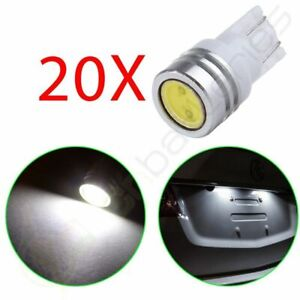 20x 1w Lamp Light T10 921 194 W5w Smd Led Car Tail Wedge Bulb 12v White Xenon