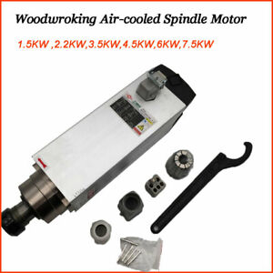 Cnc Spindle Motor Air cooled 1 5 3 5 4 5 6kw 220v For Router Milling Woodworking