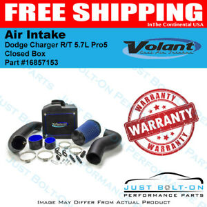 Volant 05 10 Dodge Charger R t 5 7l Pro5 Closed Box Air Intake 16857153