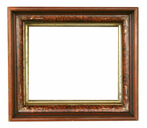 Antique Shadow Box Frame 14 1 4 X 16 1 4 Overall 10 X 12 Rabbet