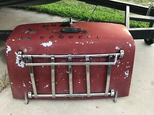 1962 68 Triumph Tr4 Tr4a Trunk Assembly W Reinforcement And Rack Oem