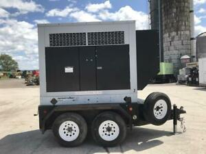 55 Kw Spectrum kohler Generator Set Sound Attenuated Base Fuel Tank 12 Lead