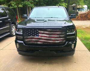 Premium Chevy Old Glory Bug Screen Grill Cover All Models And Trim Levels