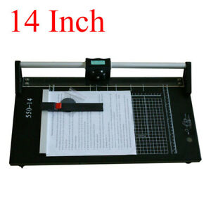 14 Precision Rotary Paper Trimmer Sharp For Photo Paper Film Cutting Machine