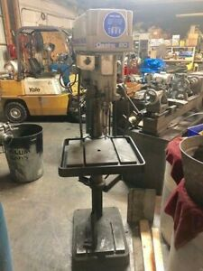 Clausing 20 Drill Press Model 2224 Stand Up Machinist Hd