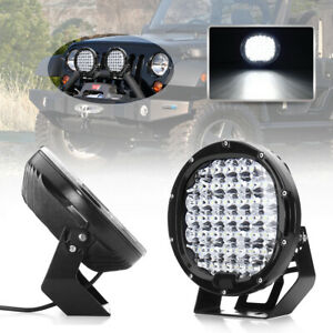 9 Inch 225w Round Led Work Light Spot Driving Lamp Headlight Offroad Atv Truck