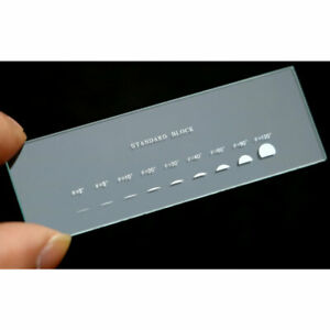 992 Optical Glass Angle Scale Stage Micrometer Calibration Slides