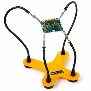 Quadhands Classic Helping Hands Third Hand Soldering Tool Four Flexible Arms