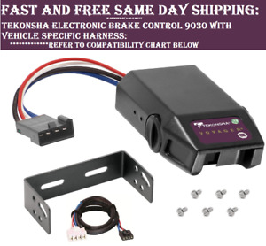 9030 Tekonsha Brake Control With Wiring Harness 3025 For 1992 2002 Gm