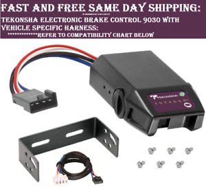 9030 Tekonsha Brake Control With Wiring Harness 3020 For 1995 2011 Dodge