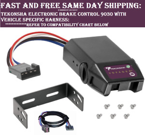 9030 Tekonsha Brake Control With Wiring Harness 3035 For 1992 2015 Ford