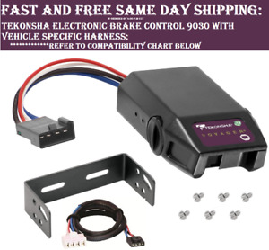 9030 Tekonsha Brake Control With Wiring Harness 3050 For 2004 2019 Nissan