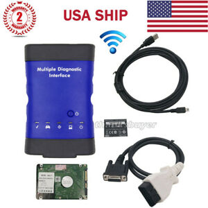 Multiple Diagnostic Interface Mdi With Wifi Hdd Software V2018 03 Us