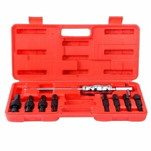 9pc Blind Hole Pilot Bearing Puller Slide Hammer Internal Extractor Remover Tool