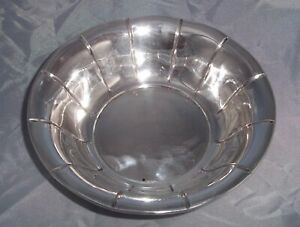 Antique Preisner Silver Company Ps Co Sterling Silver Candy Nut Dish Bowl