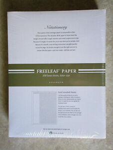 Levenger Special Request Annotation Grid 300 Sheets Unpunched 8 5 X 11 Letter