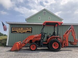 2015 Kubota B26 Hst 4x4 Compact Tractor Loader Backhoe Low Hours Clean Tlb